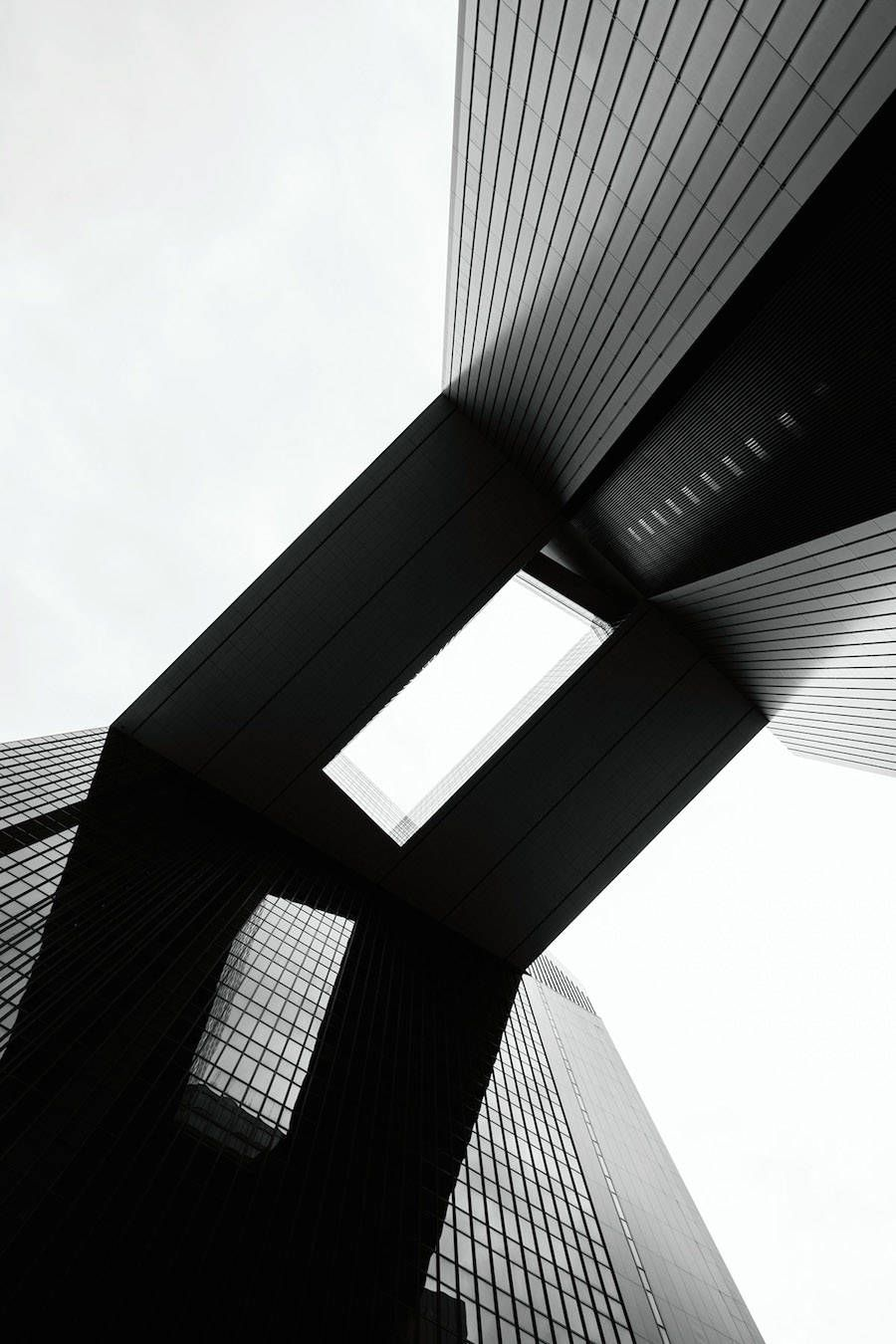 Visions Of The Future Uncluttered Black And White Architecture Photography Fubiz Media