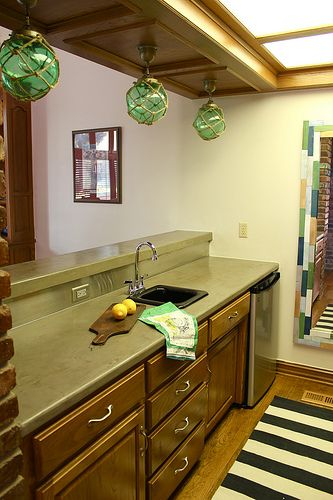 Diy Concrete Countertops To Cover Ugly Outdated Laminate