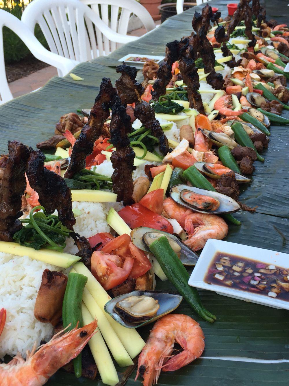 Boodle fight Food galore Pinterest Filipino