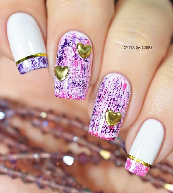 Lovely spring nail art ideas 2017 spring nails paint splatter a very pretty paint splatter inspired spring nail art design cover your nails with white prinsesfo Choice Image