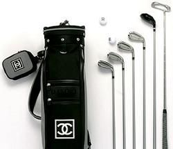 1ec2e4009afc I haven t been to the driving range in about 3 years but I definitely would  go if I had this!!! - Chanel Golf Bag