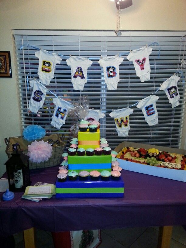 Day of the dead baby shower!