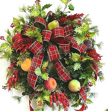 Designer Christmas Wreaths wreaths is easier than any other type - christmas wreath decorations