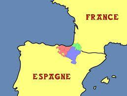 carte pays basque français et espagnol pays basque carte » (avec images) | Pays basque, Basque, France
