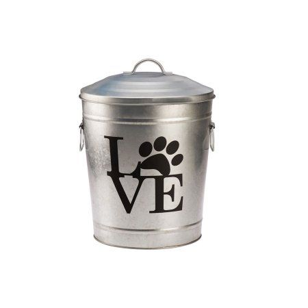 Free Shipping On Orders Over 35 Buy Pooch Pantry Love Galvanized