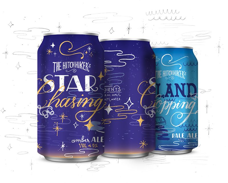 The Hitchhiker's Beer on Packaging of the World - Creative Package Design Gallery