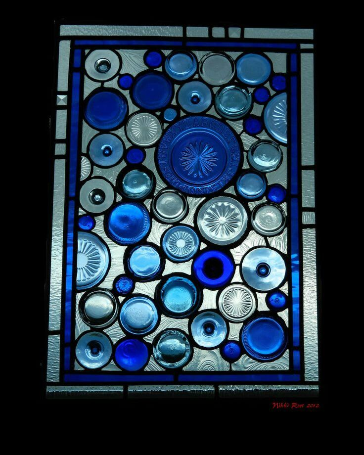 Unique stained glass window