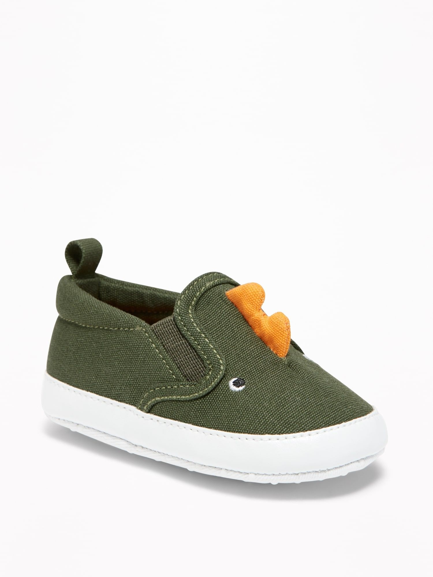 4714625000b Dinosaur Critter Slip-Ons for Baby | Old Navy | Fashion | Baby boy ...