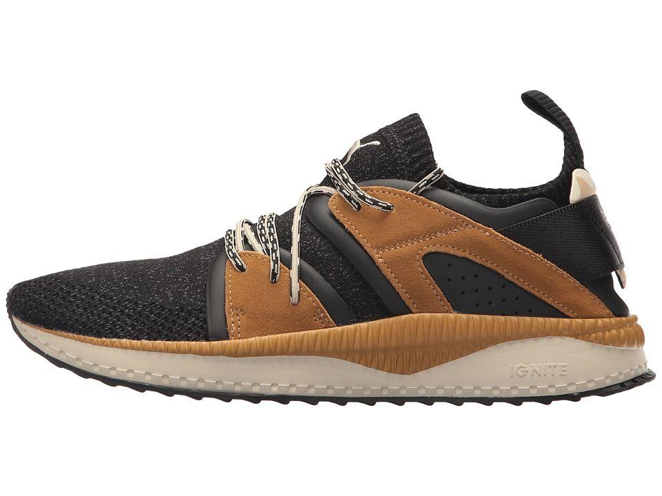 15108bdc0f4 PUMA Tsugi Blaze evoKNIT Camo Men s Shoes PUMA Black Golden Brown ...