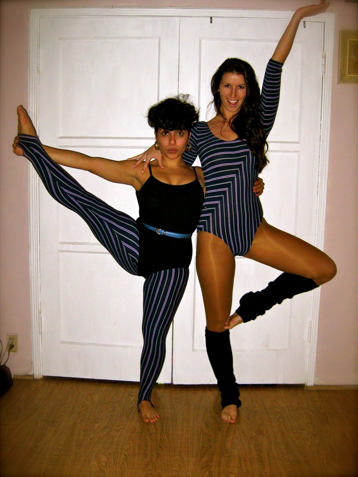 how to get into leotard