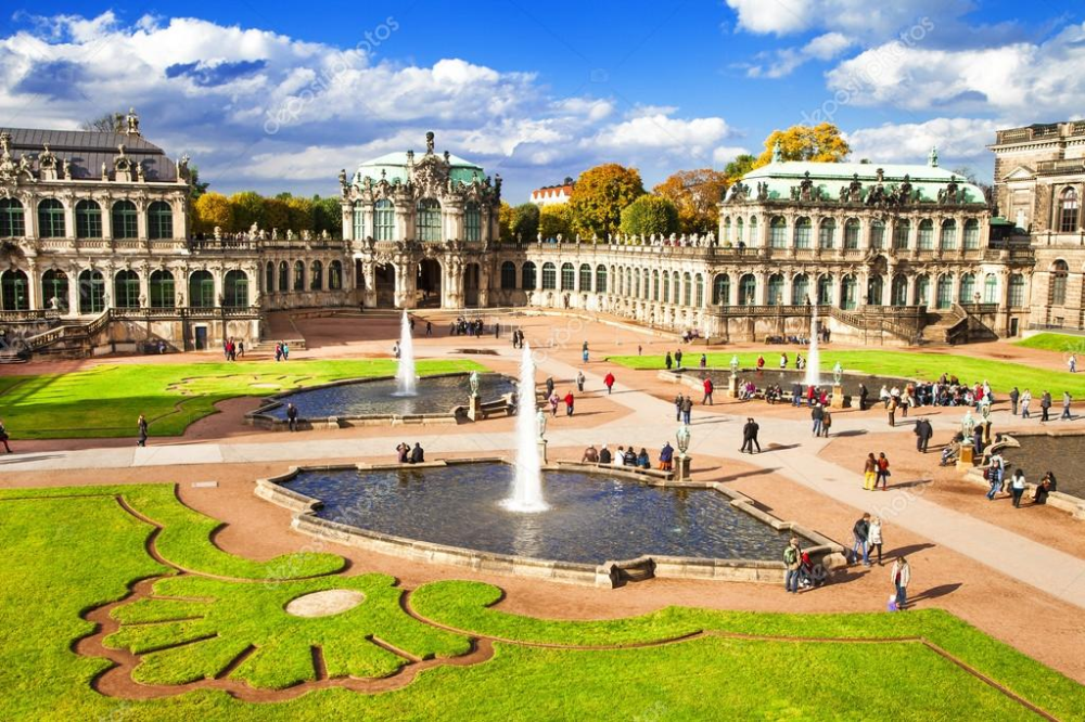 Baroque Dresden Zwinger Museum Stock Romantic Destinations Best Romantic Getaways Dresden