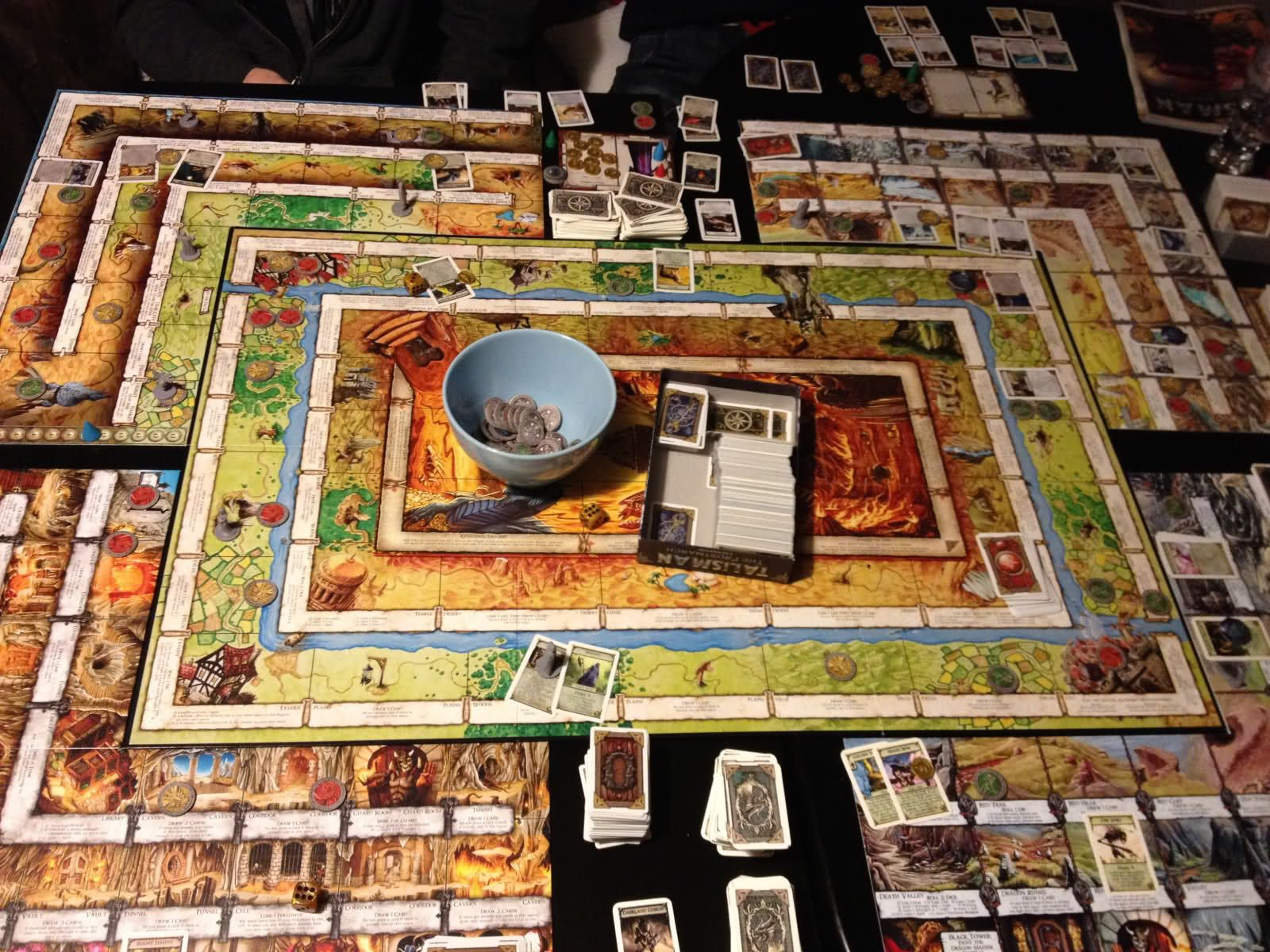 Talisman The Dark Lord of Board Games a review of the