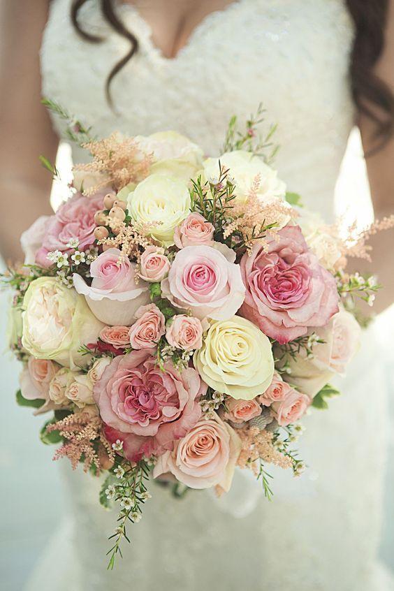32 Blumensträuße für diese Saison + Rosen-Styleguide  #blumenstrau #diese #rosen #saison #styleguide,