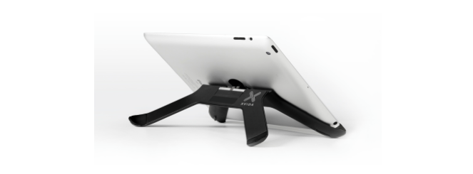 Boomerang allinone iPad smart stand and mounting system