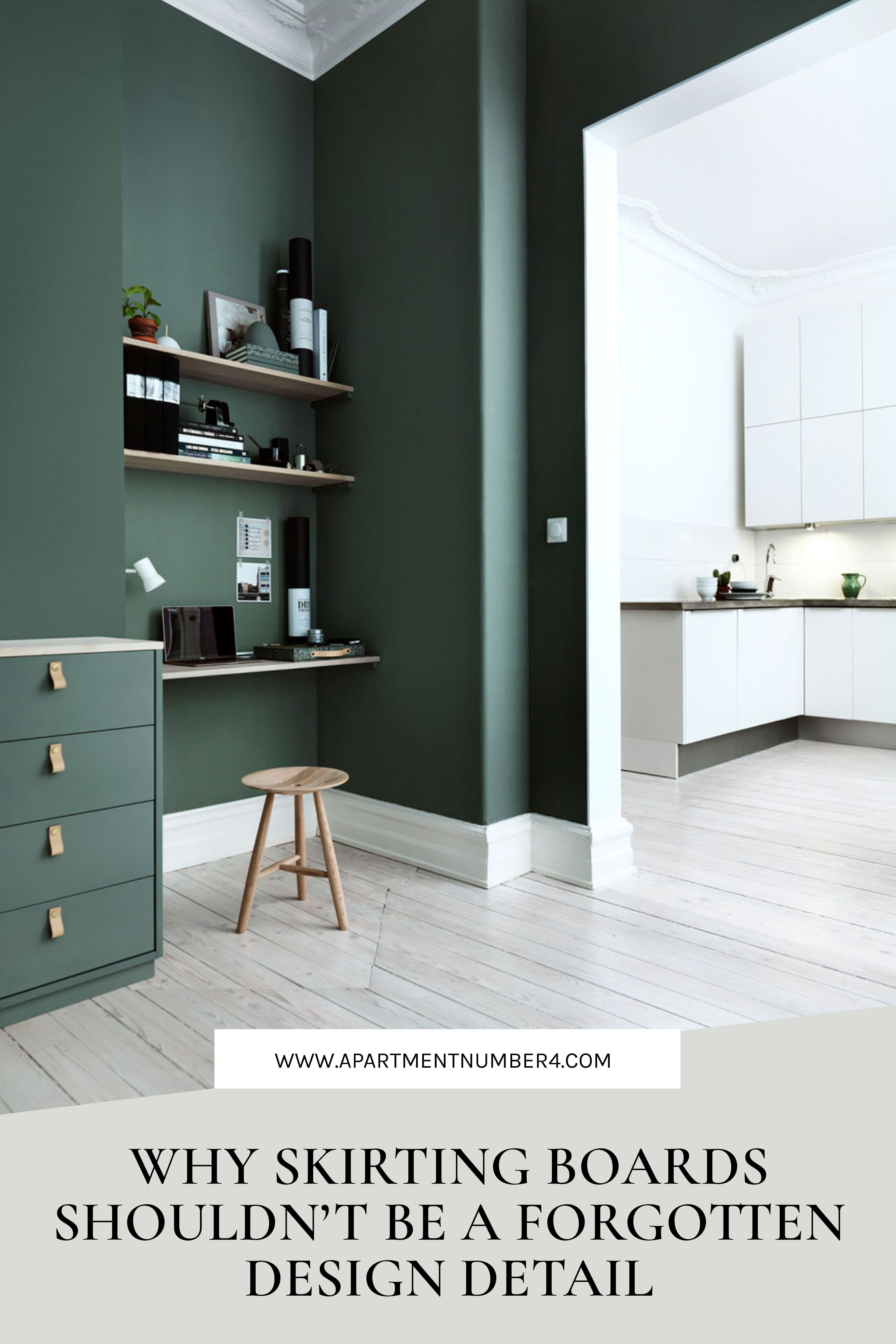 Skirting Board Interior Design Ideas Living Room Paint Green