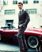 produccion Vogue hombre Mexico Junio 2013 David Gandy Bianca Balti