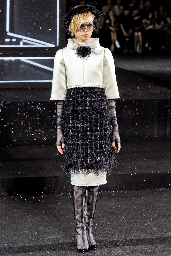 Chanel Fall 2011 Couture Fashion Show - Siri Tollerød