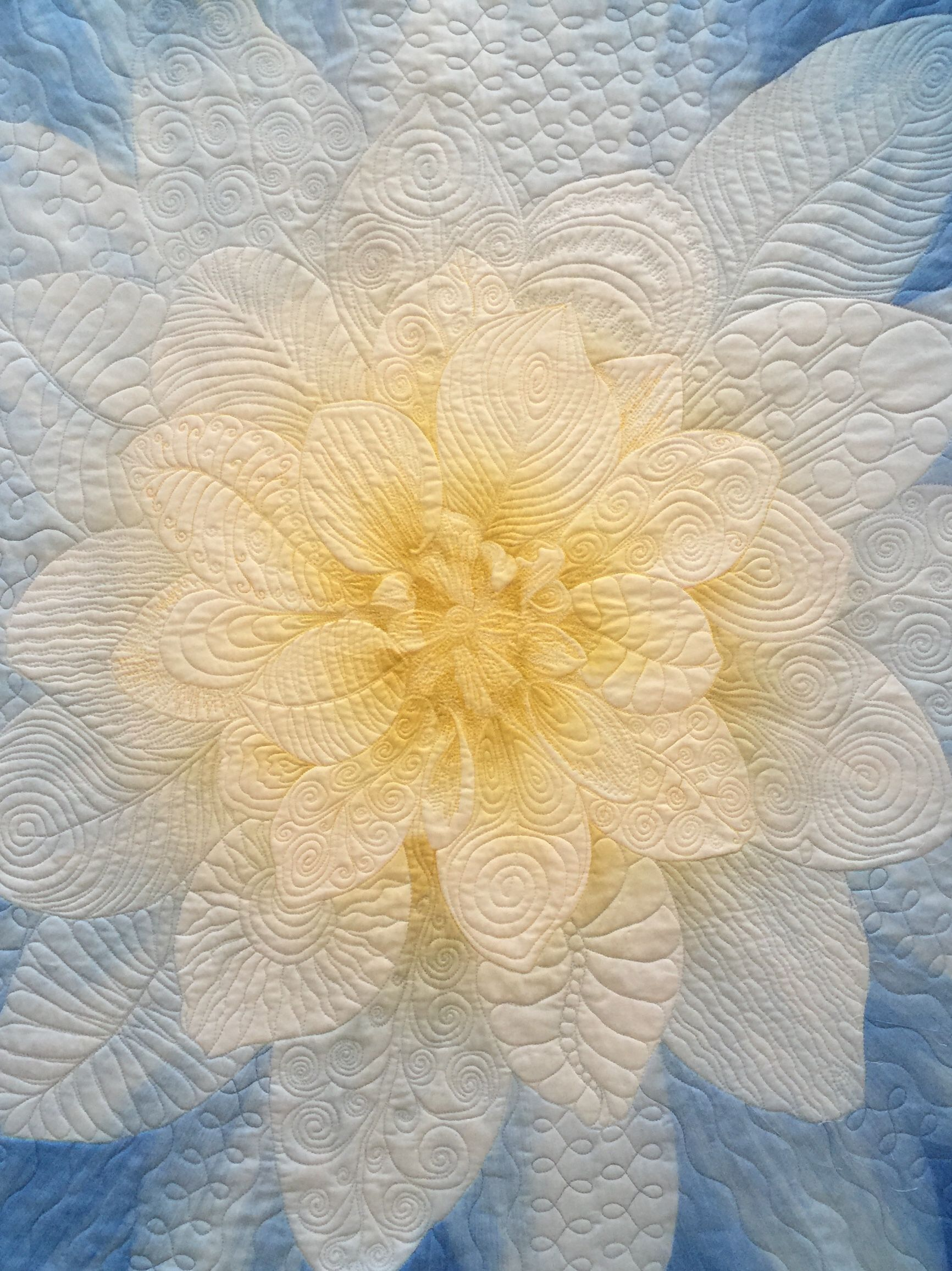 Free motion Hoffman Dream Big panel   Fabric panel quilts