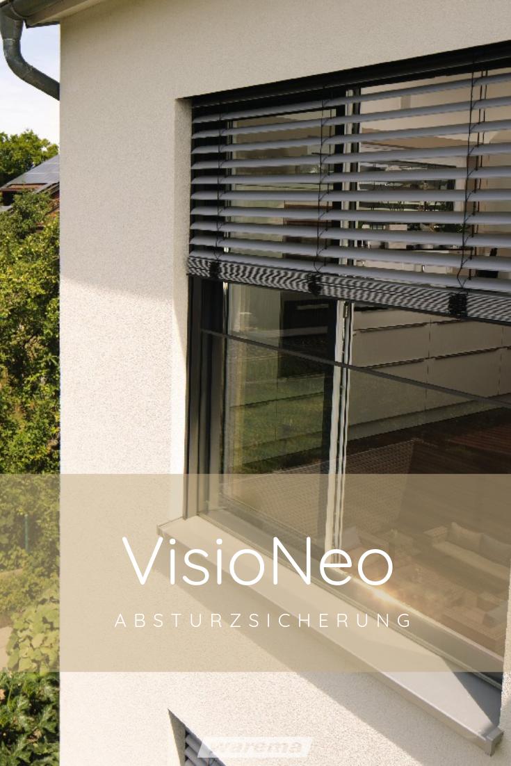 Absturzsicherung Visioneo Fur Fenster Und Balkonturen Aussenjalousien Haus Aussendesign Architektur