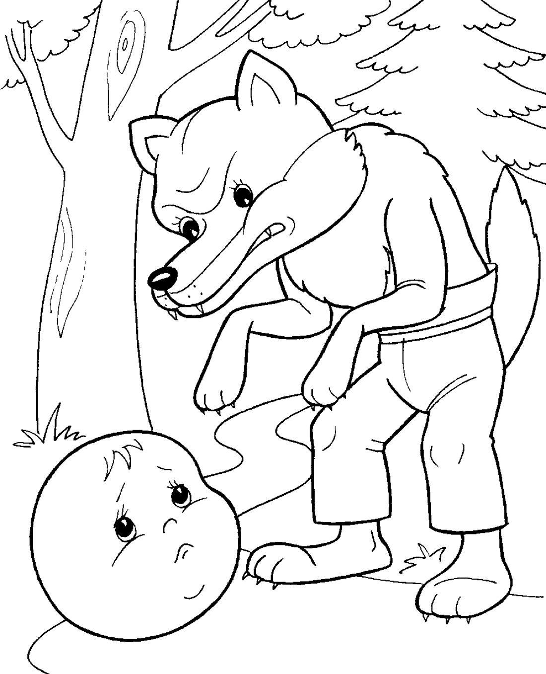 волк раскраска Google Keresés Fargelegge