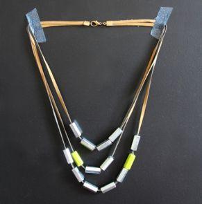 Un collier avec des écrous {tuto} - DIY necklace with nut - Pure Loisirs