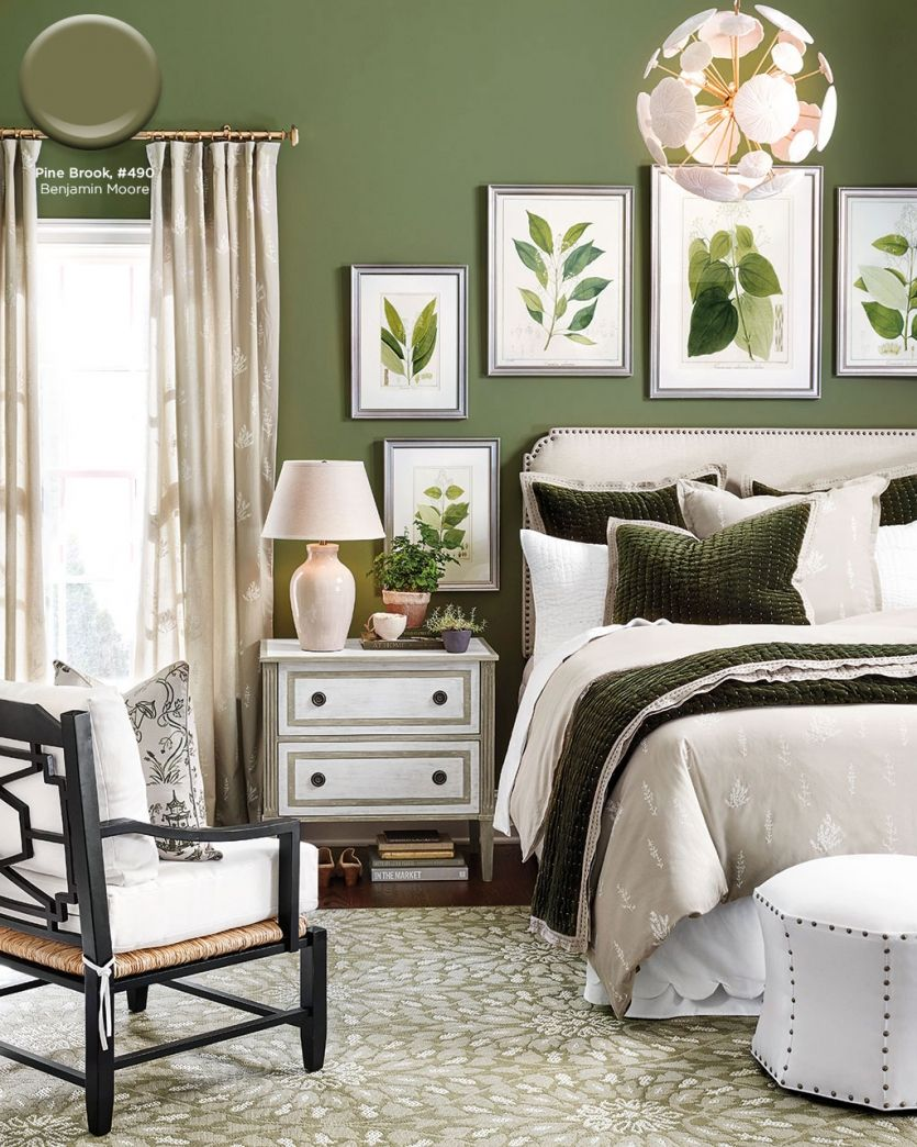 As17 Paint 10 835x1044 Jpg 835 1044 Green Master Bedroom Green Bedroom Walls Bedroom Green