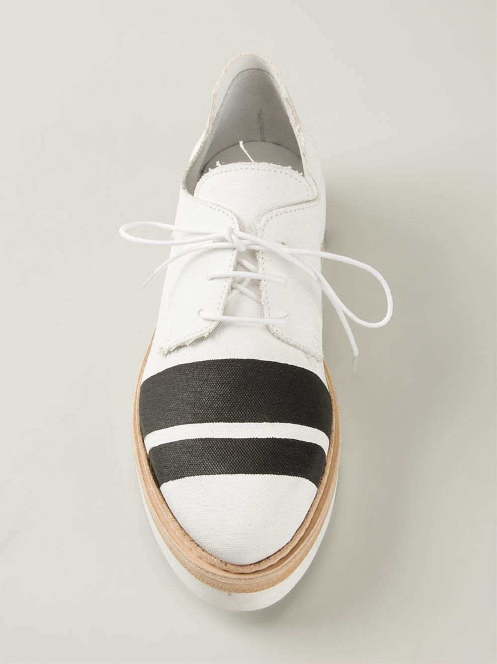 Cinzia Araia Stripe Lace Up Shoes - Nike - Via Verdi - Farfetch.com