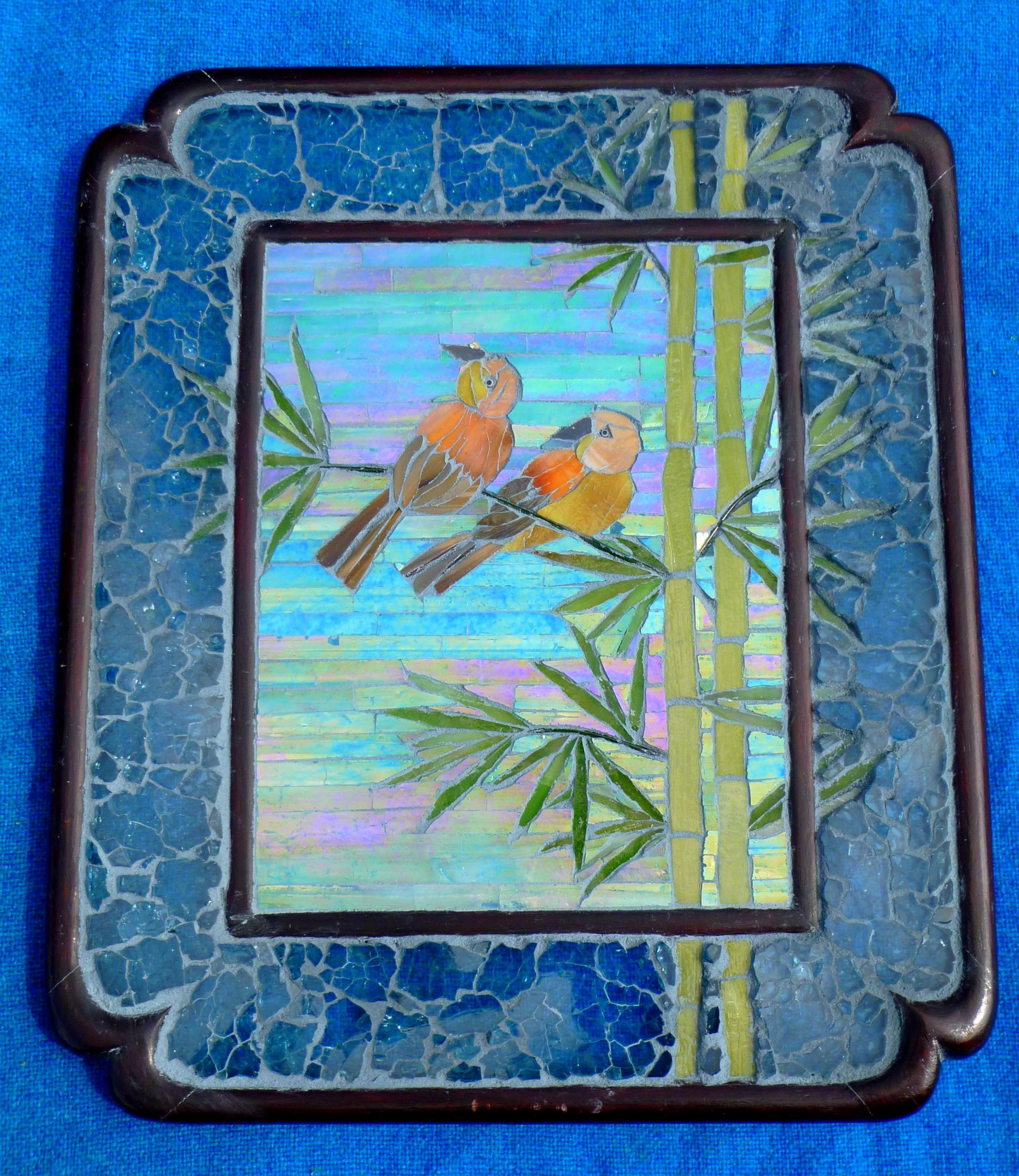 Bamboo Lovers - Delphi Artist Floyfreestyle Mosaic Large And Small