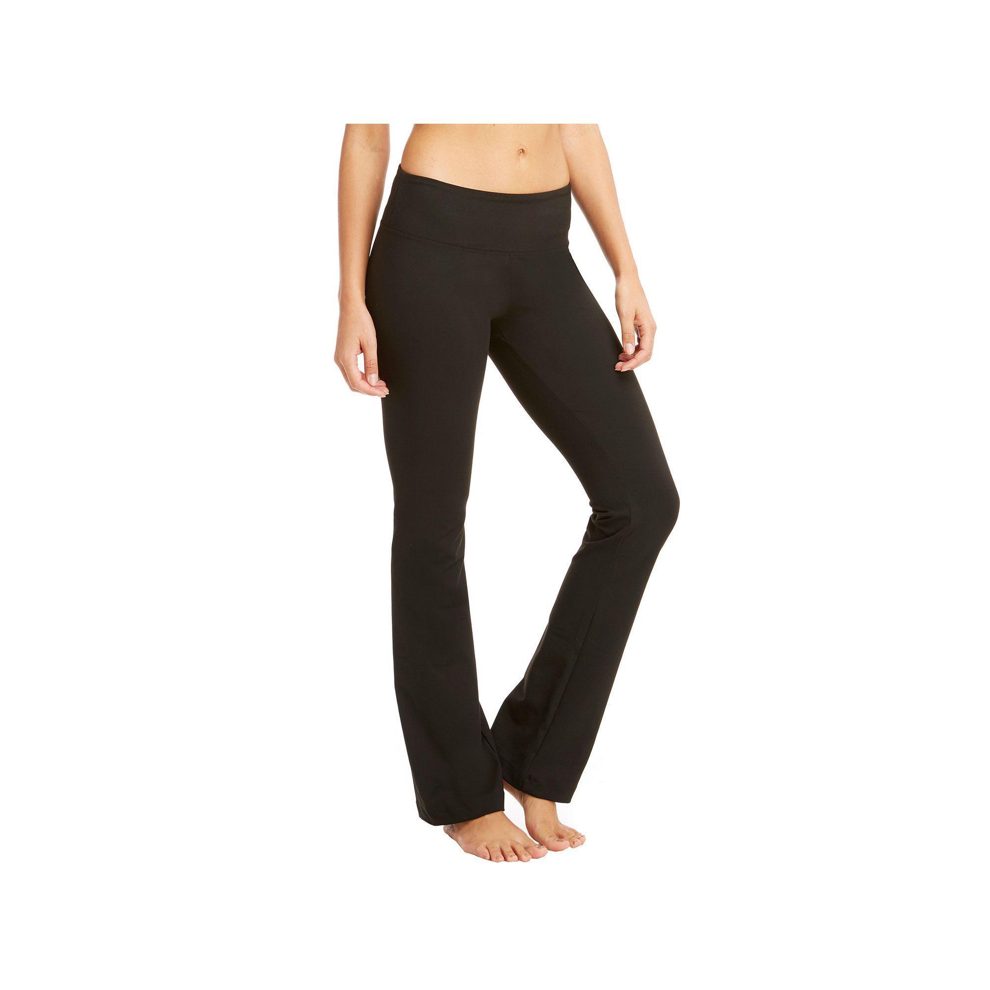 d0c1c751195a8e Women's Marika Weekend Sanded Dry Wik Flared Yoga Pants, Size: Medium, Black