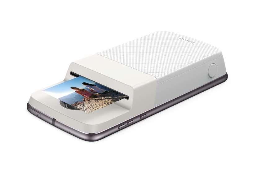 mod polaroid insta share printer quand votre moto z se transforme en appareil photo instantan. Black Bedroom Furniture Sets. Home Design Ideas