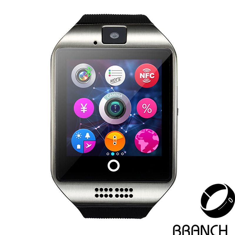 Kinetisches Mobile no 1 original smartwatch q18 armbanduhr für apple ios android