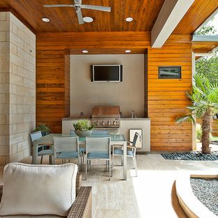 Outdoor Kitchen Design Ideas, Pictures, Remodel, and Decor - page 9