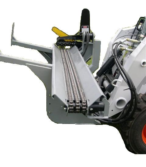 Details About Skid Steer Wood Processor Attachment