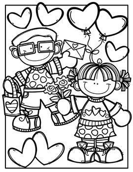 Free Valentine Coloring Pages Made By Creative Clips Clipart Valentine Coloring Pages Valentine Coloring Valentines Day Coloring Page
