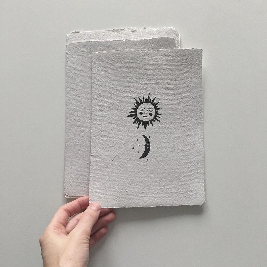 "Kseniia on Instagram: ""#illustration #art #minimalism #minimalistic #mistik #sun #moon #солнце #луна #графика #graphicdesign #graphicart"""