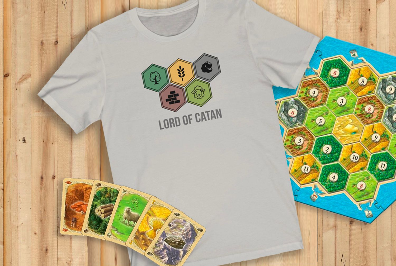 Lord Of Catan Tee Catan, Catan shirt, Board game geek