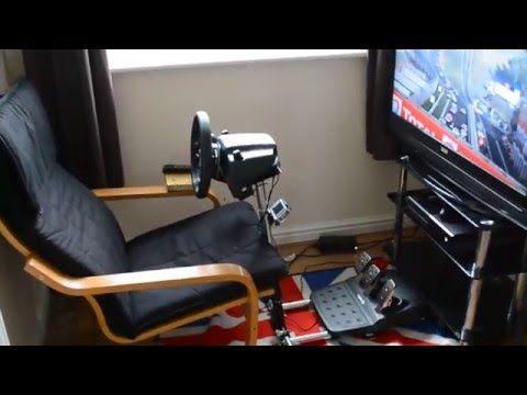 Sim Racing Setup, Wheel Stand Pro, Logitech G920, Xbox One