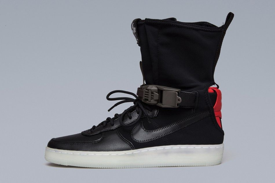 An Official Look at the ACRONYM x Nike AF1 Downtown Hi SP | Footwear, Nike  air force and Wardrobes
