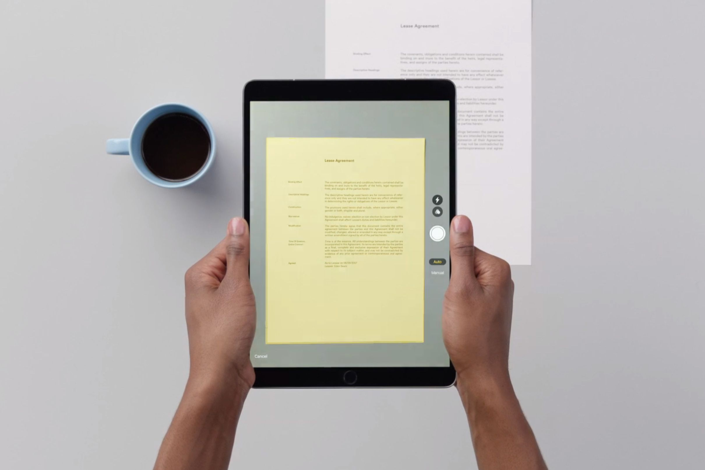 How To Use Apple S Terrific Document Scanner In Ios 11