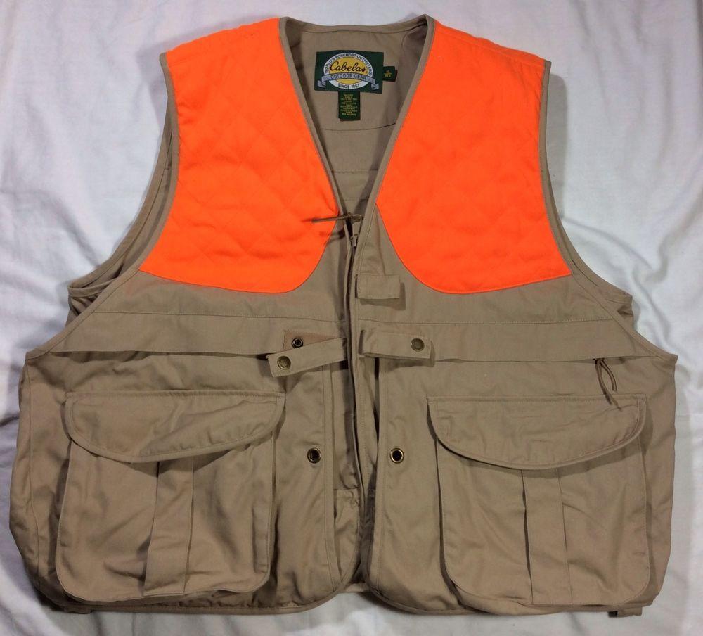 ed15c653efb18 Cabela's XL Upland Bird Hunting Vest | Cabela's Upland Vest ...