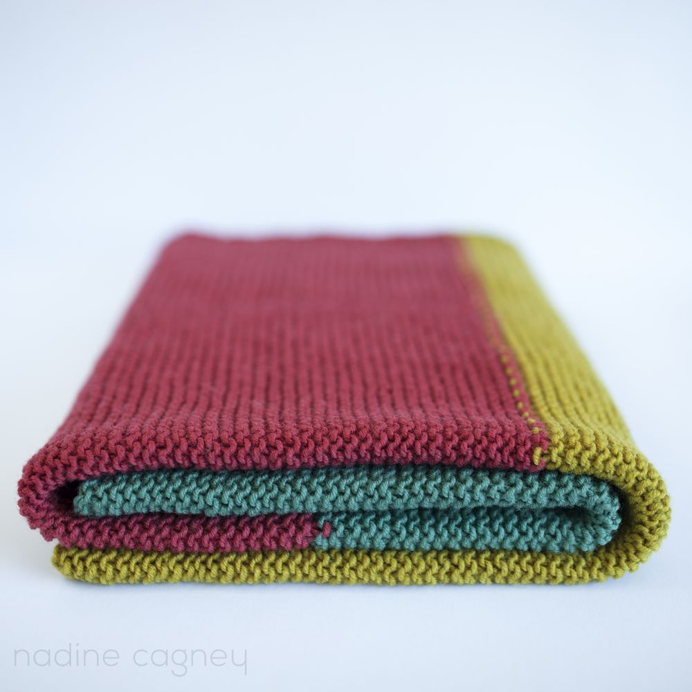 The woven big baby blanket in spice free simple knitting pattern the woven big baby blanket in spice free simple knitting pattern bankloansurffo Choice Image