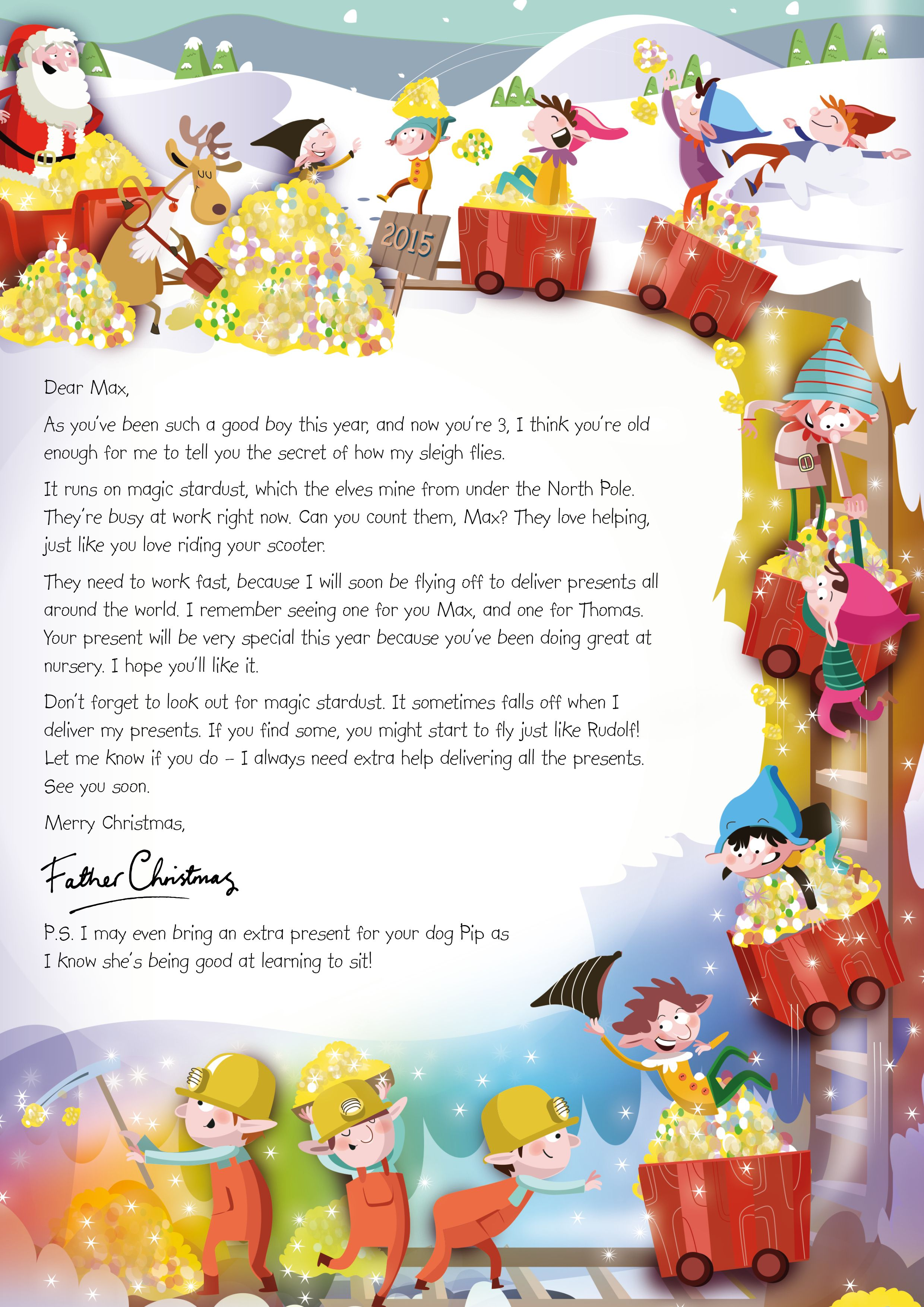 Nspcc letter from santa magic christmas stardust 2015 https nspcc letter from santa magic christmas stardust 2015 httpswww spiritdancerdesigns Choice Image