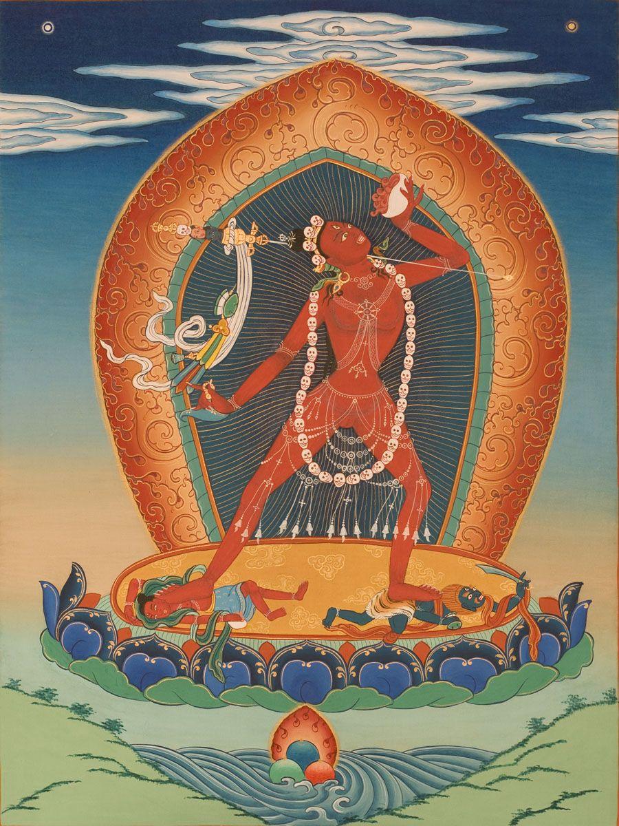 Серчем (подношение чая) Ваджрайогини | Буддизм