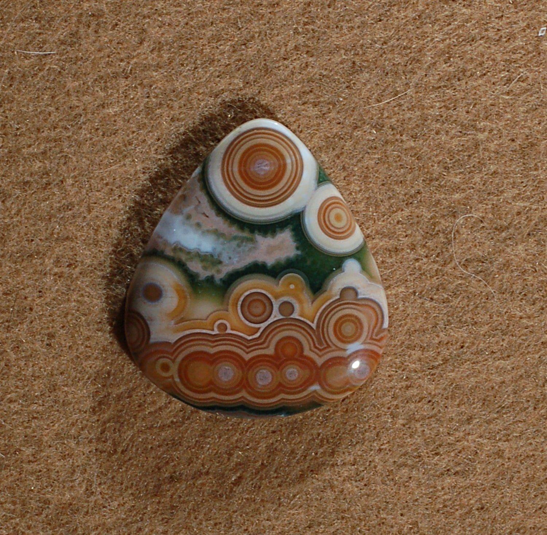 Designer Cabochons Handmade by MagicStones. Ocean Jasper Cabochon