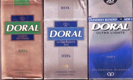 Pin on doral cigarettes