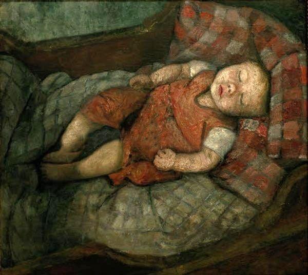 Paula Modersohn-Becker (1876-1907) Sleeping Child
