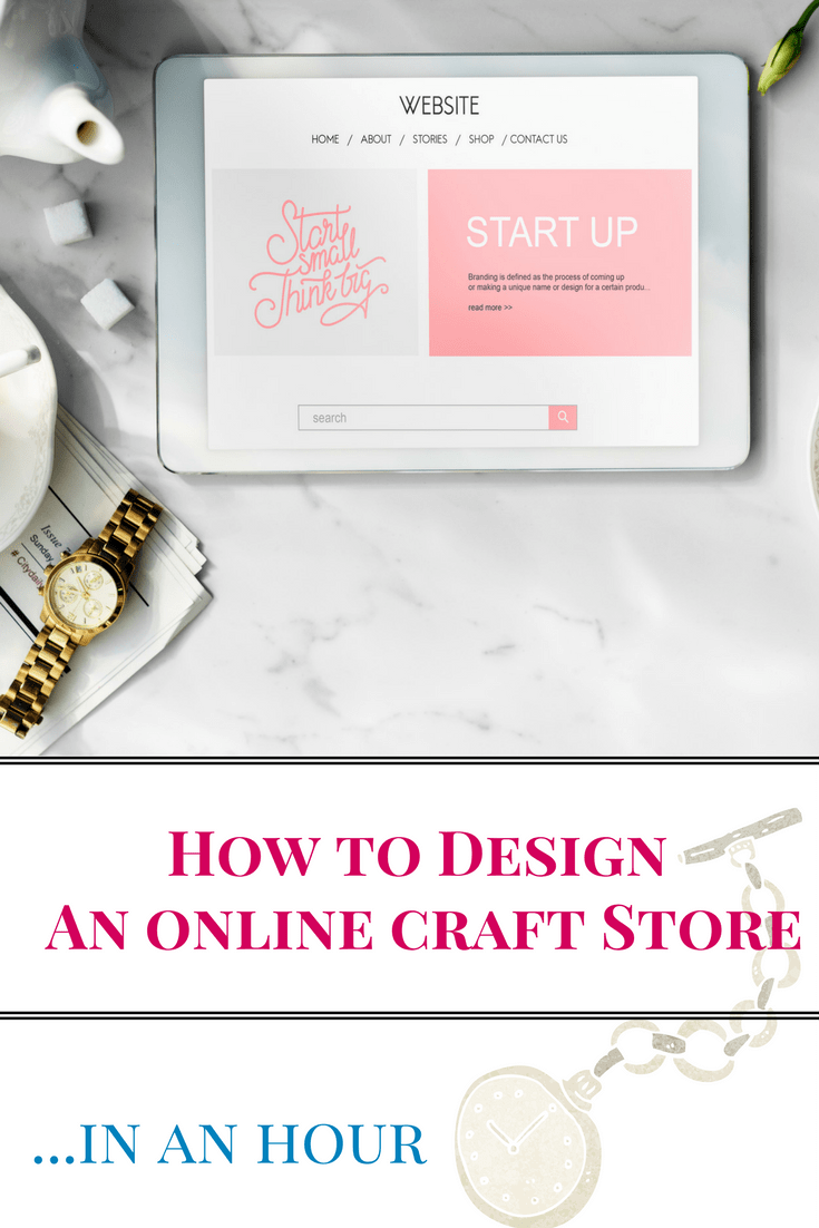 Craft Online Store Create An Online Craft Store In Under An Hour Crafts Online