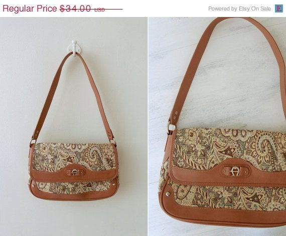 Hey, I found this really awesome Etsy listing at https://www.etsy.com/listing/179542360/pop-sale-etienne-aigner-handbag-two-tone