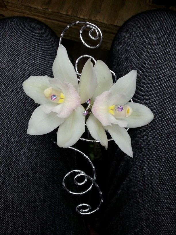 White Corsages For Prom Pink And Silver Corsage