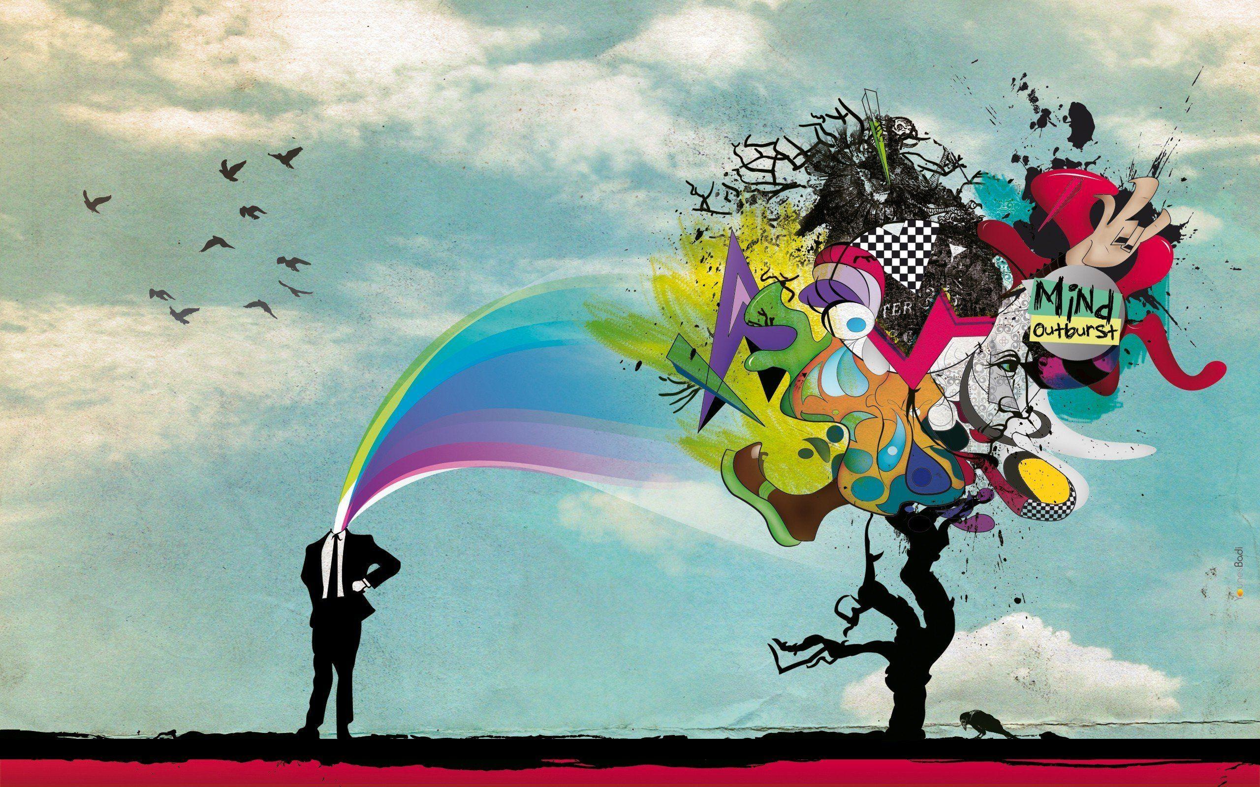 Creative Thinking Wallpapers Creative Art Nature Screensavers Art Wallpaper